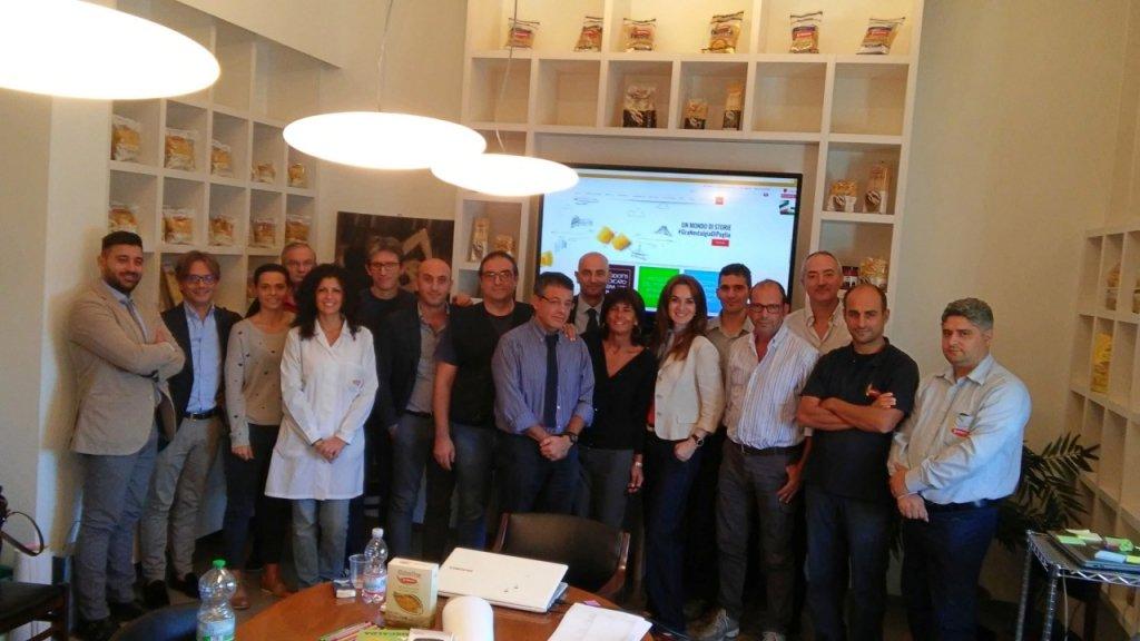 Foto di fine corso Business Model Workshop Granoro, Puglia